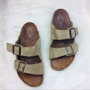 Birkenstock Arizona Sandals Suede Leather